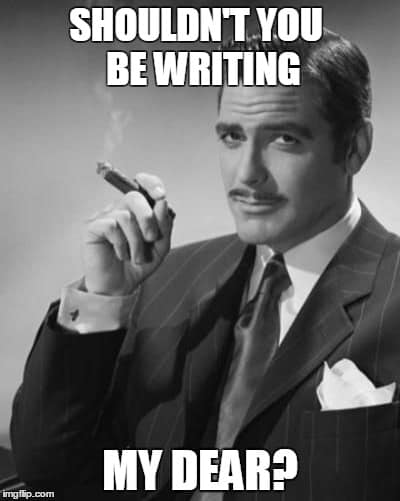 writing meme