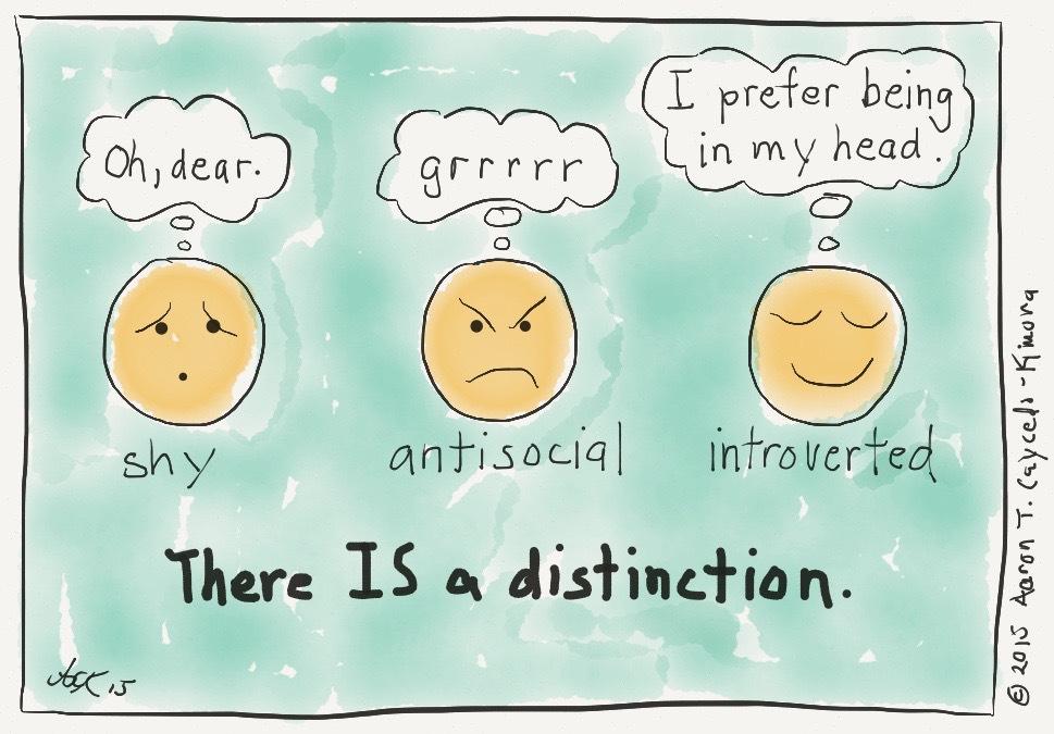 introvert meme