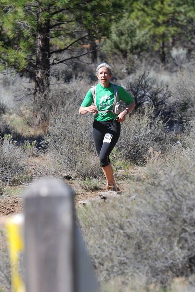 runner on trail
