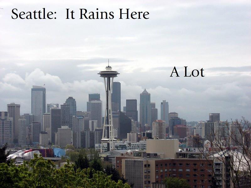 Seattle rain meme