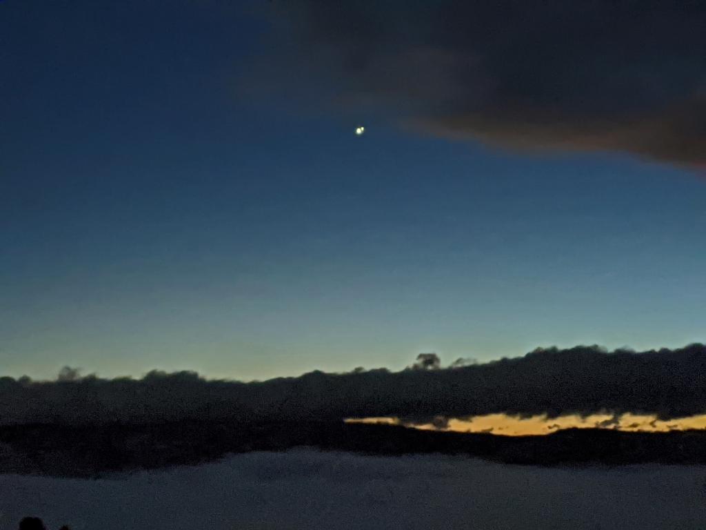 saturn jupiter conjunction closeup